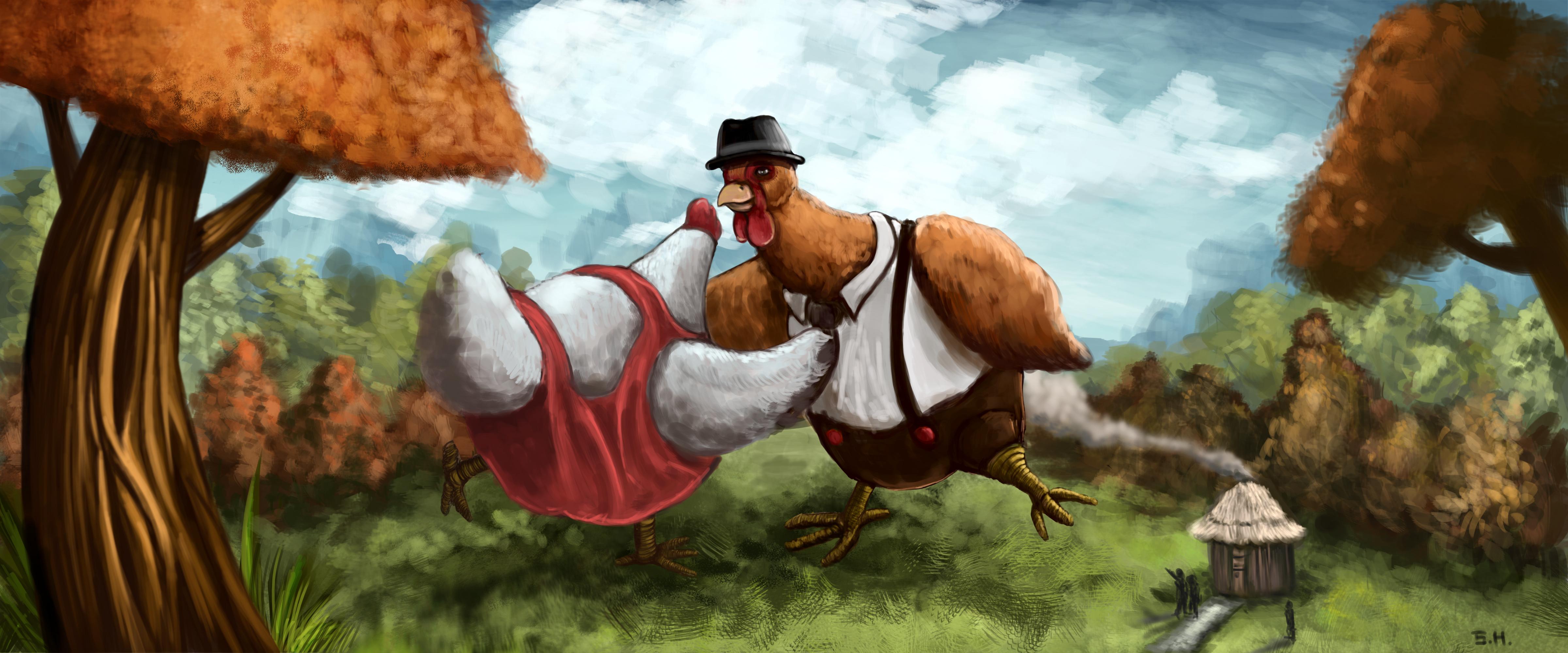 dancing chicken the art of chi kei sam ho